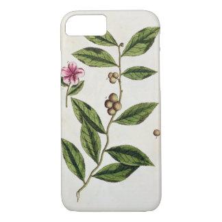 """Coque iPhone 8/7 Le thé vert, plaquent 351 """"d'un de fines herbes"""