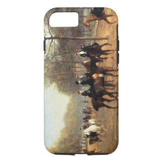 Coque iPhone 8/7 Le tour de matin, rangée putréfiée, Hyde Park,