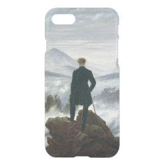 Coque iPhone 8/7 Le vagabond au-dessus de la mer du brouillard,