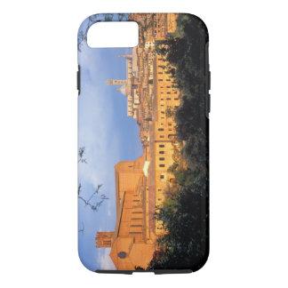 Coque iPhone 8/7 Le village toscan de Sienna, Italie