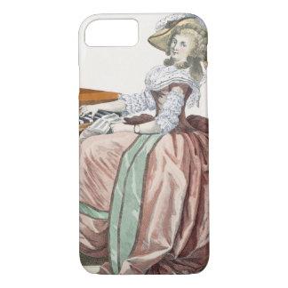 """Coque iPhone 8/7 Le Virtuosa dans une robe """"un l'Anglaise"""" avec une"""