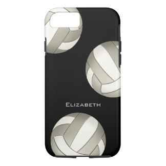 Coque iPhone 8/7 le volleyball de femmes blanches de platine