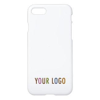 Coque iPhone 8/7 le volume marqué par logo de Custom Case Company