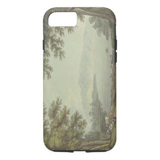 Coque iPhone 8/7 L'eau de Skiddaw et de Derwent (stylo et encre