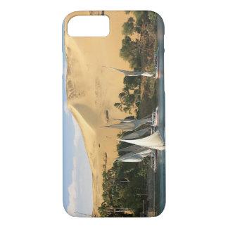 Coque iPhone 8/7 L'Egypte, Assouan, le Nil, voiliers de Felucca, 2