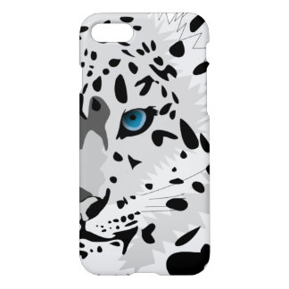 Coque iPhone 8/7 Léopard de neige