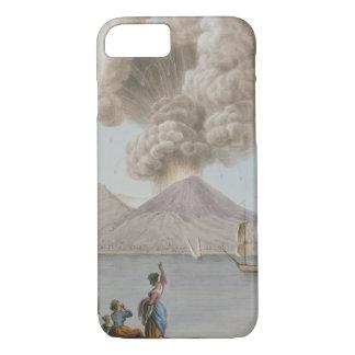 Coque iPhone 8/7 L'éruption du Vésuve, lundi 9 août 1779, plat