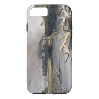 Coque iPhone 8/7 Les accrocs (arbres submergés) sur le Missouri,