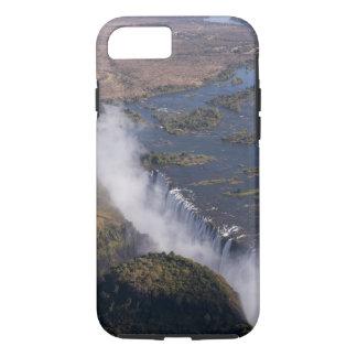 Coque iPhone 8/7 Les chutes Victoria, rivière de Zambesi, Zambie -