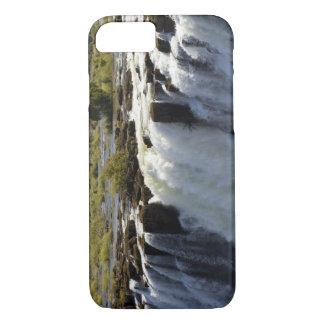 Coque iPhone 8/7 Les chutes Victoria, rivière de Zambesi, Zambie. 2