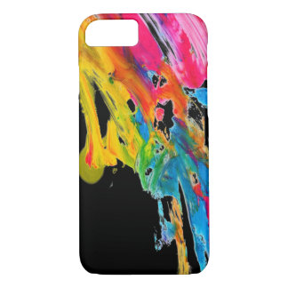 Coque iPhone 8/7 les couleurs de couleur d'éclaboussure de peinture