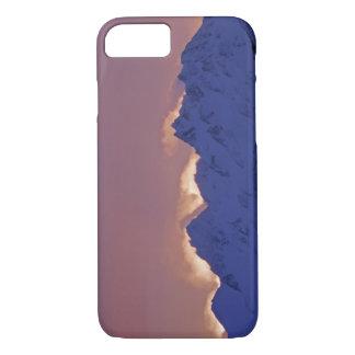 Coque iPhone 8/7 Les Etats-Unis, Alaska, Homer. Lever de soleil