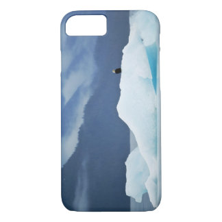Coque iPhone 8/7 Les Etats-Unis, Alaska, passage intérieur. Aigle