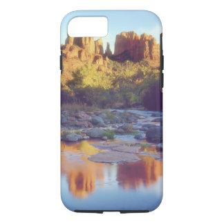 Coque iPhone 8/7 Les Etats-Unis, Arizona, Sedona. Se refléter de