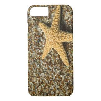 Coque iPhone 8/7 Les Etats-Unis, HI, Kauai, plage en verre avec des