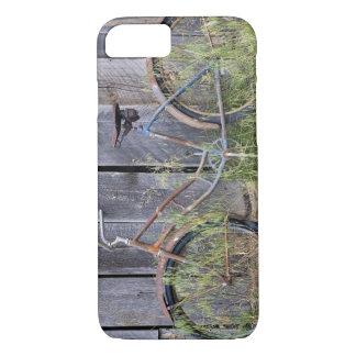 Coque iPhone 8/7 Les Etats-Unis, Orégon, courbure. Un vieux vélo