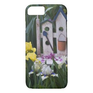 Coque iPhone 8/7 Les Etats-Unis, Pennsylvanie. Les iris de jardin