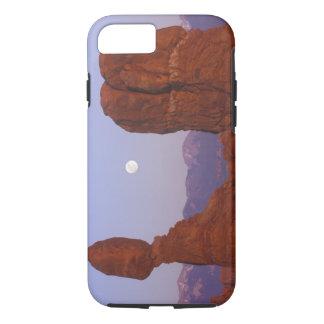 Coque iPhone 8/7 Les Etats-Unis, Utah, arquent le NP, pleine lune