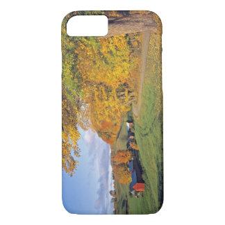 Coque iPhone 8/7 Les Etats-Unis, Vermont, ferme de Jenne. La chute