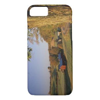Coque iPhone 8/7 Les Etats-Unis, Vermont, Woodstock du sud, ferme