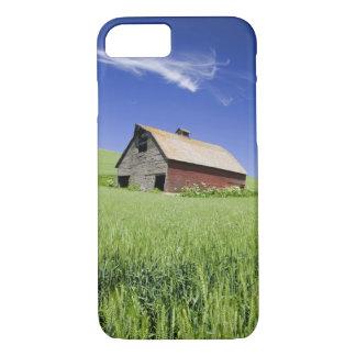 Coque iPhone 8/7 Les Etats-Unis, Washington, vieille grange rouge