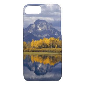 Coque iPhone 8/7 Les Etats-Unis, Wyoming, Teton grand NP. Contre