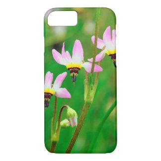 Coque iPhone 8/7 Les fleurs sauvages d'étoile filante dans la