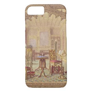 Coque iPhone 8/7 Les meubles gothiques de Pugin, par Augustus