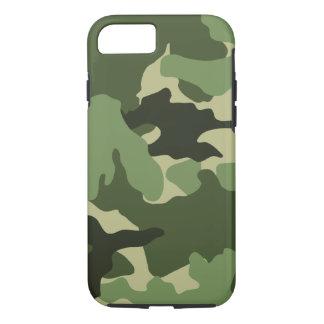 Coque iPhone 8/7 Les militaires verts frais de motif de Camo
