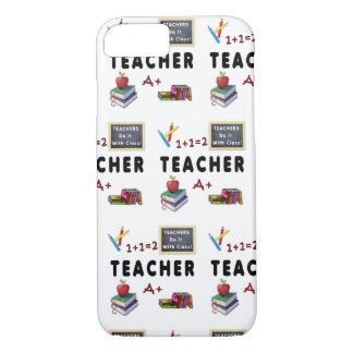 Coque iPhone 8/7 Les professeurs le font avec la classe