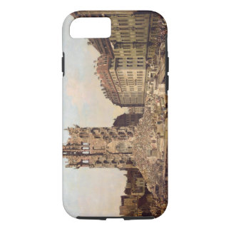 Coque iPhone 8/7 Les ruines du vieux Kreuzkirche, Dresde