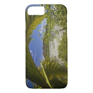 Coque iPhone 8/7 Les Seychelles, île de Curieuse, baie de Laraie