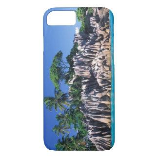Coque iPhone 8/7 Les Seychelles. Ilot St Pierre (près de Praslin
