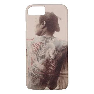 Coque iPhone 8/7 Les tatouages du jeune marié japonais, c.1880