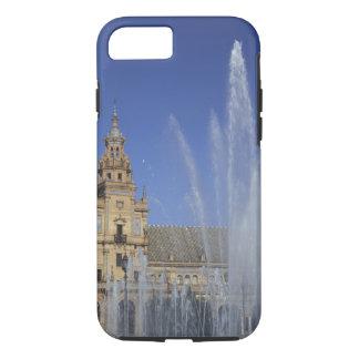 Coque iPhone 8/7 L'Espagne, Séville, la fontaine d'Andalousie et