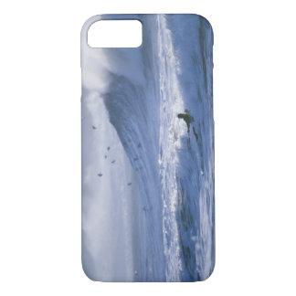 Coque iPhone 8/7 L'état de Washington des Etats-Unis, Poussée de