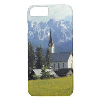 Coque iPhone 8/7 L'Europe, Autriche, Gosau. La flèche de l'église