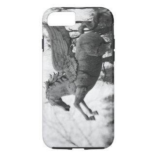 Coque iPhone 8/7 L'Europe, Autriche, Salzbourg. Statue à ailes de