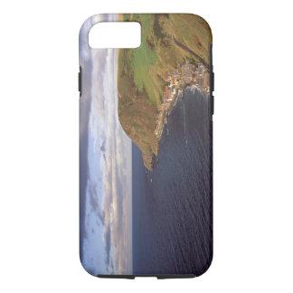 Coque iPhone 8/7 L'Europe, Ecosse, Aberdeen. Vue aérienne de