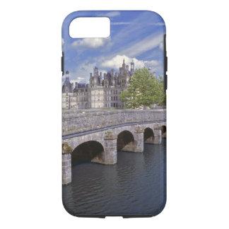 Coque iPhone 8/7 L'Europe, France, Chambord. Avances en pierre d'un