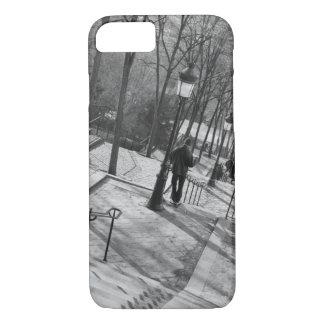 Coque iPhone 8/7 L'Europe, France, Paris, Montmartre : Matin dessus