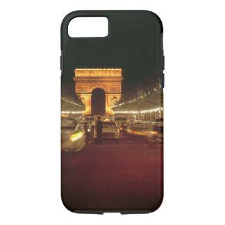 Coque iPhone 8/7 L'Europe, France, Paris. Précipitations du trafic