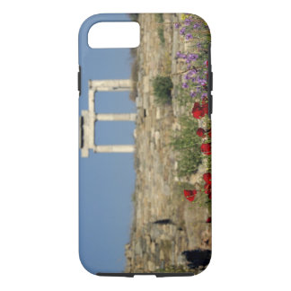 Coque iPhone 8/7 L'Europe, Grèce, Cyclades, Delos. Ruines de