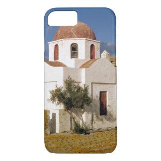 Coque iPhone 8/7 L'Europe, Grèce, Mykonos. Les filets de pêche
