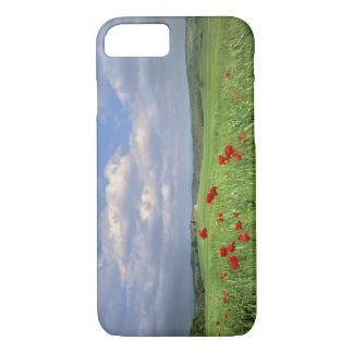 Coque iPhone 8/7 L'Europe, Toscane, Poggiolo. Balancement rouge de