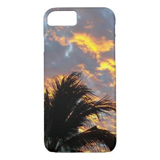 Coque iPhone 8/7 Lever de soleil de nouvelle année au Mexique