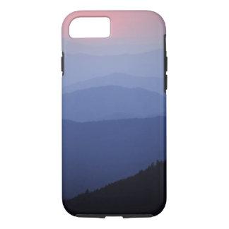 Coque iPhone 8/7 Lever de soleil, les Appalaches du sud, grandes