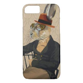 Coque iPhone 8/7 Lièvres de Horatio sur la chaise