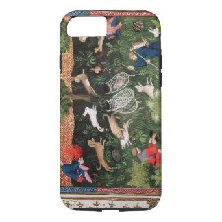 Coque iPhone 8/7 Lièvres de la chasse fol.92 de Mme Fr 616, du
