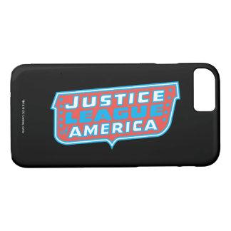 Coque iPhone 8/7 Ligue de justice de logo de l'Amérique